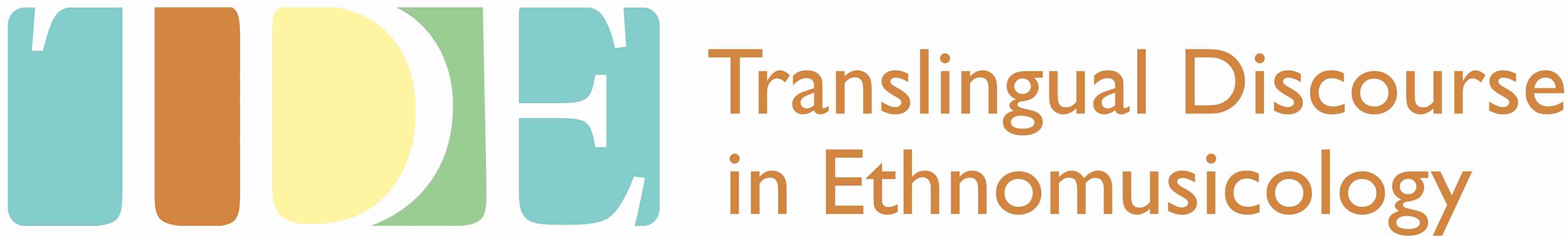 Translingual Discourse in Ethnomusicology